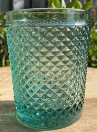 Waterglas groen (Diamond - bicos) / Vista Alegre