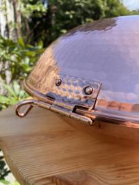Cataplana  / koperen pan 24cm (1-2 pers)