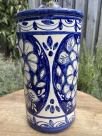 Wijnkoeler blauw wit (jc)