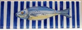Wandtegeltableau Chicharro / serie visjes (3 x 15x15cm)