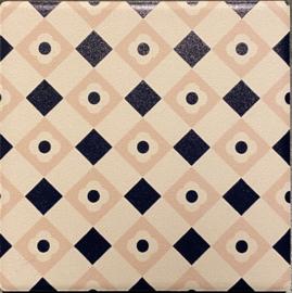 Keramische onderzetter Málaga 9,5x9,5cm