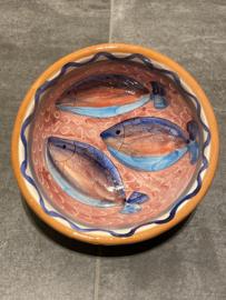 Schaal visjes 13x6cm (bc)