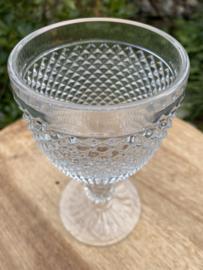 Diamond glas Vista Alegre transparant L