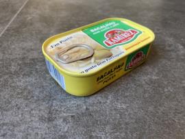 Stokvis in olijfolie en knoflook / Bacalhau com azeite e alho (120gr)