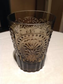 Waterglas Fleur de Lys bruin M