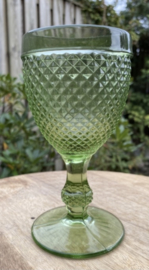 Wijnglas M groen (Diamond - bicos) / Vista Alegre