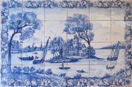 Wandtegeltableau São Bento (24 x 14x14cm)