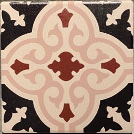 Keramische onderzetter Granada 9,5x9,5cm