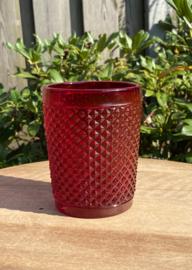 Waterglas rood (Diamond - bicos) / Vista Alegre