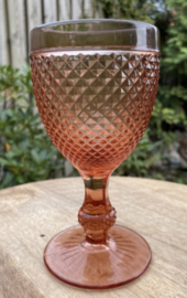 Wijnglas M roze (Diamond - bicos) / Vista Alegre