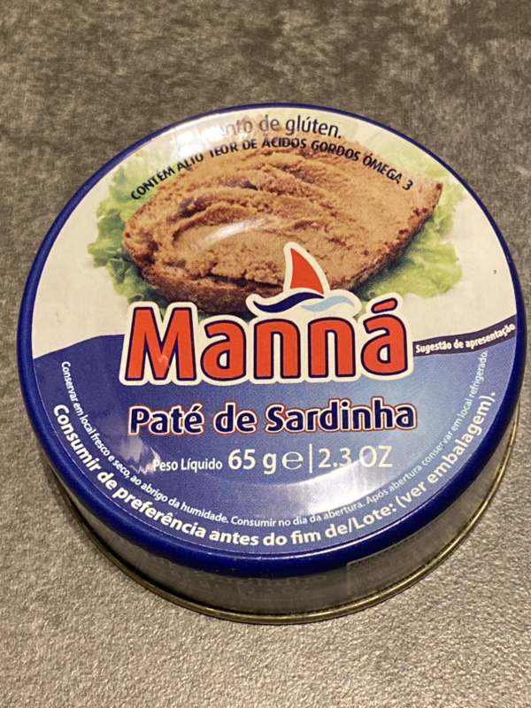 5 x Sardine paté / Paté de sardinha (65gr x 5)