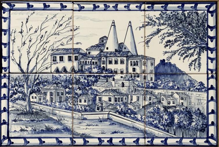 Wandtegeltableau Sintra  (6 x 15x15cm)