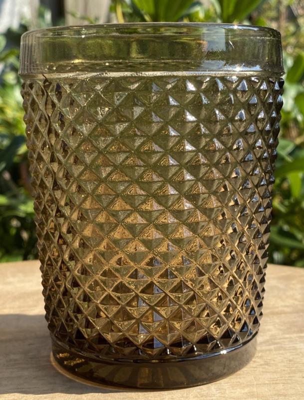 Waterglas bruin (Diamond - bicos) / Vista Alegre