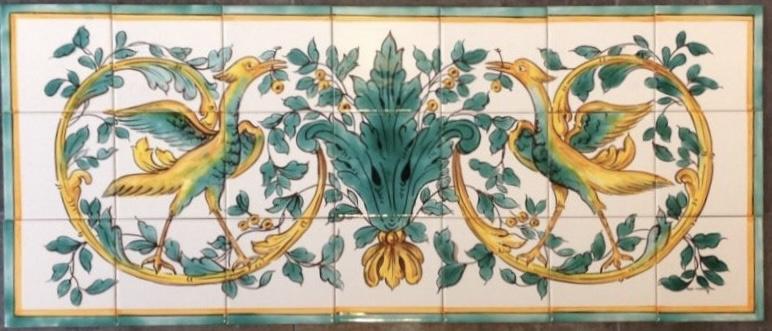 Wandtegeltableau Queluz (21 x 15x15cm)