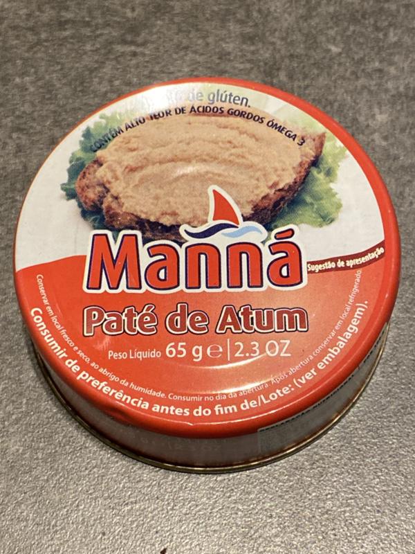 5 x Tonijn paté / Paté de atum (65gr x 5)
