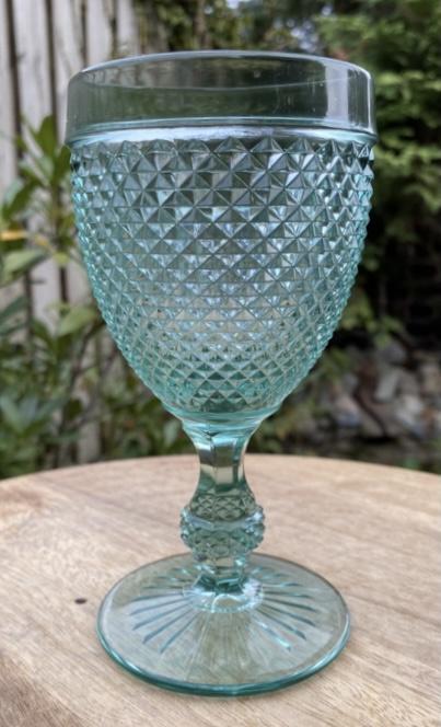 Diamond glas Vista Alegre turkoois M