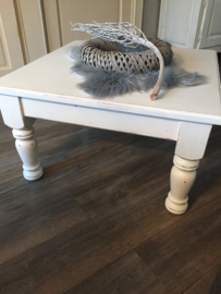 sfeervolle brocante salontafel , landelijke stijl