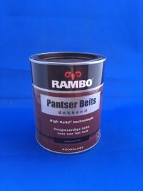 RAMBO Pantserbeits Dekkend - KLASSIEK BRUIN 1113 - 750 ml