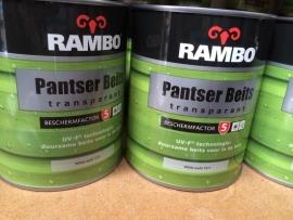 Rambo Pantserbeits Transparant BF5 - White Wash 1211 - 750 ml