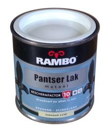 Rambo Pantserlak Metaal Zijdeglans - 1110 Cremewit - 250 ml