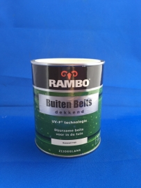 RAMBO Buitenbeits Dekkend - BOERENWIT 1109 - 750 ml