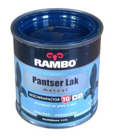 Rambo Pantserlak Metaal Hoogglans - 1121 Nachtblauw - 250 ml