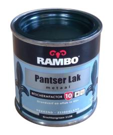 Rambo Pantserlak Metaal Zijdeglans - 1128 Grachtengroen - 250 ml