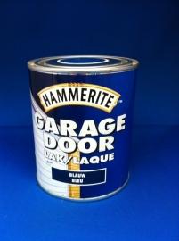 Hammerite Garagedoor lak - BLAUW - 750 ml