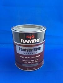RAMBO Pantser Beits Dekkend - GRIFFELGRIJS 1112 - 750 ml
