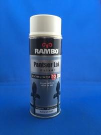Rambo Pantserlak voor metaal - Zuiverwit 1100 Hoogglans - 400ML