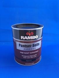 RAMBO Pantser Beits Dekkend - DIEPZWART 1123 - 750 ml