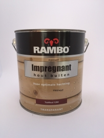 RAMBO Impregnant hout buiten - TEAKHOUT 1204 - 2,5 Liter