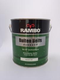 RAMBO Buitenbeits Dekkend - IVOORWIT 1101 - 2,5 Liter