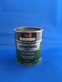 RAMBO Buitenbeits Dekkend - RIJTUIGGROEN 1127 - 750 ml
