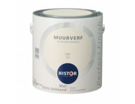 Histor Perfect Finish Muurverf - IVOOR 6553 - 2,5 Liter
