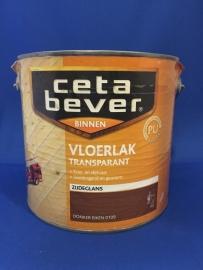 Cetabever Vloerlak Transparant - ANTIEK GRENEN 0116 - 2,5 Liter