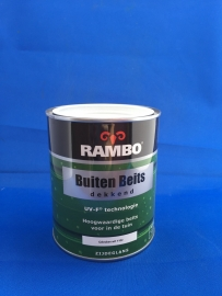 RAMBO Buitenbeits Dekkend - GEBROKEN WIT 1102 - 750 ml