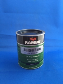 RAMBO Buitenbeits Dekkend - DIEPBLAUW 1133 - 750 ml
