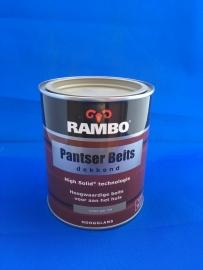 RAMBO Pantser Beits Dekkend - LEISTEEN GRIJS 1124 - 750 ml