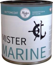 Mister Marine Antifouling Dark Grey - 2.5 Liter