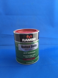 RAMBO Buitenbeits Dekkend - KARMIJNROOD 1107 - 750 ml
