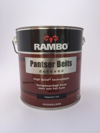 RAMBO Pantser Beits Dekkend - DIEPZWART 1123 - 2,5 Liter