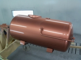 einzA Zinkofan - neukupfer - koper kleurige verf - 2,5 liter