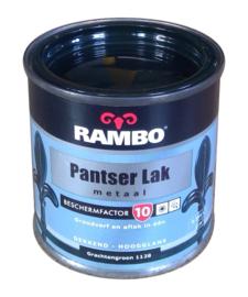Rambo Pantserlak Metaal Hoogglans - 1128 Grachtengroen - 250 ml