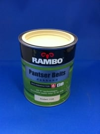 RAMBO Pantserbeits - ZANDWIT 1108 - factor 6 - 750 ml