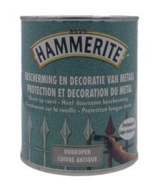 Hammerite Oud Koper Structuur Mat Lak - 750 ml