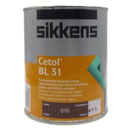 SIKKENS CETOL BL 31 TRANSPARANT NOTEN 010 - 1 Liter