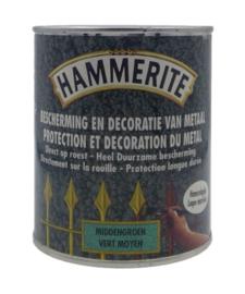 Hammerite Middengroen Hamerslag Lak - 750 ml
