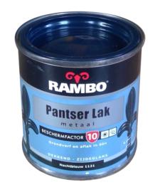 Rambo Pantserlak Metaal Zijdeglans - 1121 Nachtblauw - 250 ml