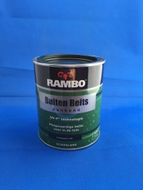RAMBO Buitenbeits Dekkend - GRACHTENGROEN 1128 - 750 ml